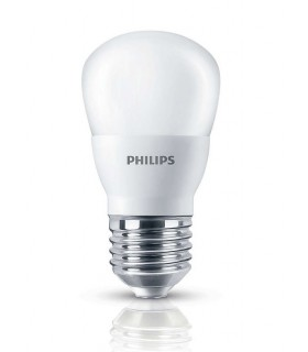 Philips 4W E27 LED Fancy Round Frosted Warm White 350lm Bulb