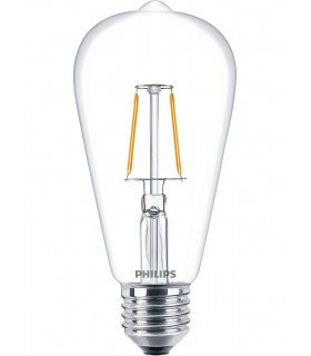 More about Philips 2.3W E27 LED Filament Deco ST64 Long Warm White 250lm Bulb