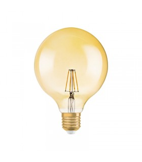 More about Osram 7W E27 Dimmable LED Filament Vintage 1906 G120 Warm White 710lm Globe
