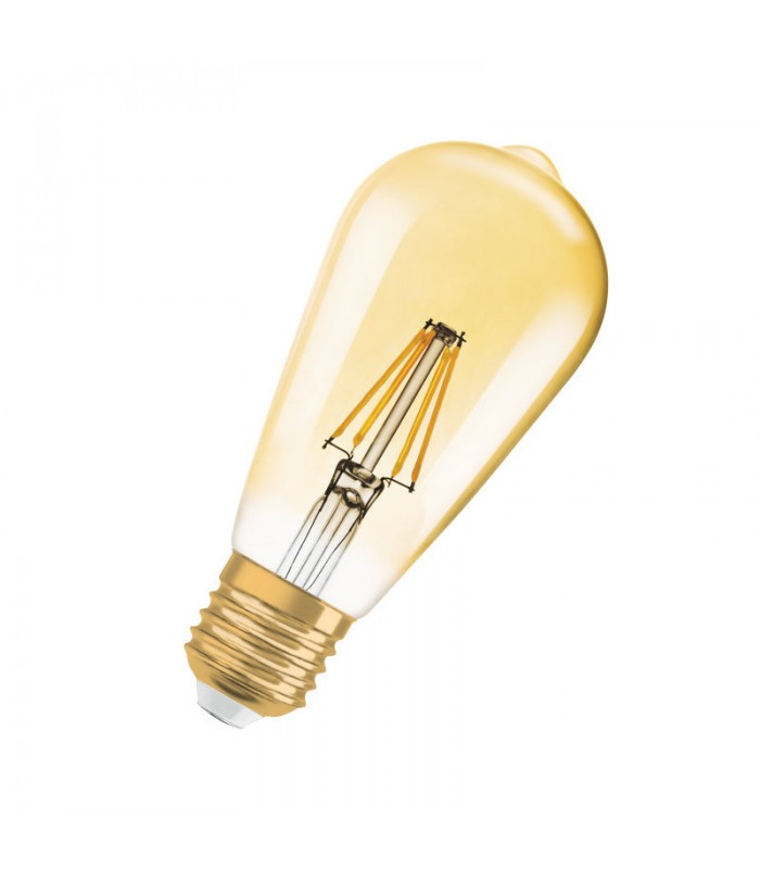 osram 4w e27 led filament vintage 1906 st64 warm white 410lm bulb led me. Black Bedroom Furniture Sets. Home Design Ideas