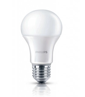 Philips 8.5W E27 Dimmable LED A60 Warm White 806lm Bulb