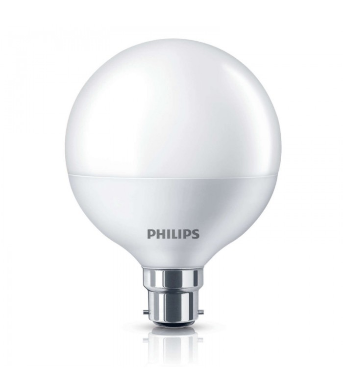 Philips 9.5W B22 LED G95 Warm White 806lm Globe