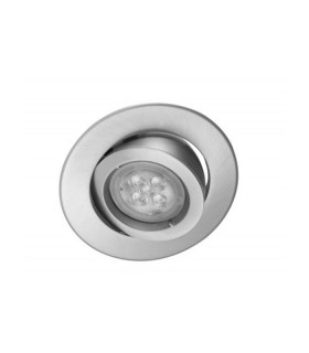 Osram 5.5W Gimble Downlight Warm White 350lm 90mm Cutout - Satin Chrome