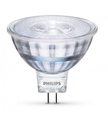 Philips 5W GU5.3 (12V) LED Spot MR16 50 60° Warm White 390lm Lamp
