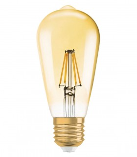 More about Osram 4W E27 LED Filament Vintage 1906 ST64 Warm White 380lm Bulb