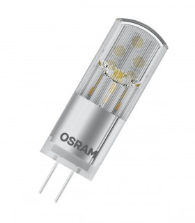 Osram 2.4W G4 (12V) LED Star Pin Clear Warm White 300lm Lamp