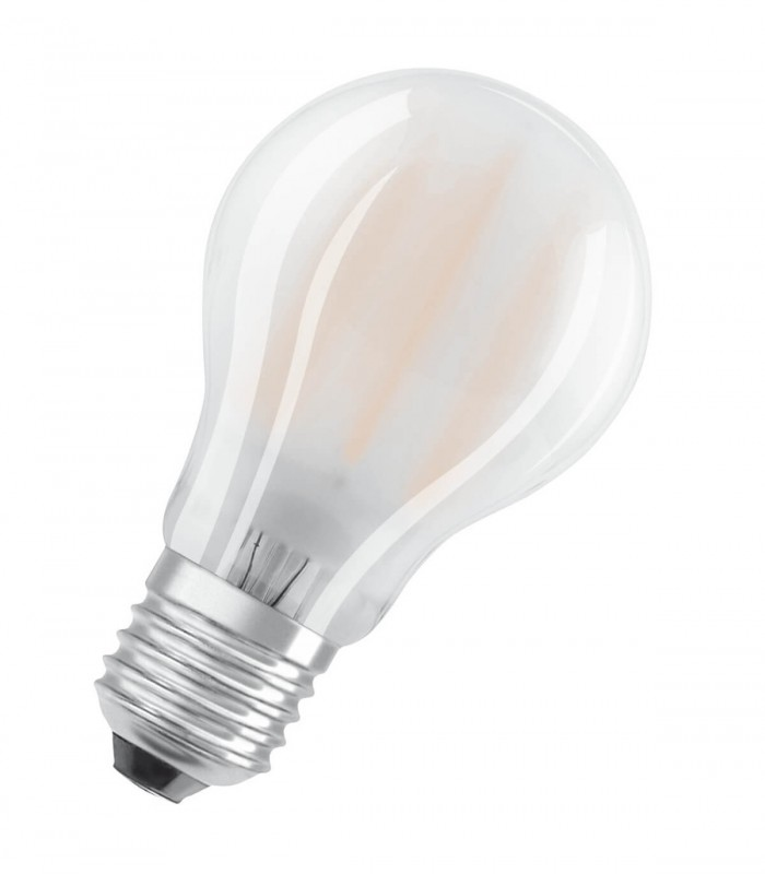 Osram 7W E27 LED Filament Classic A60 Frosted Cool White 806lm Bulb