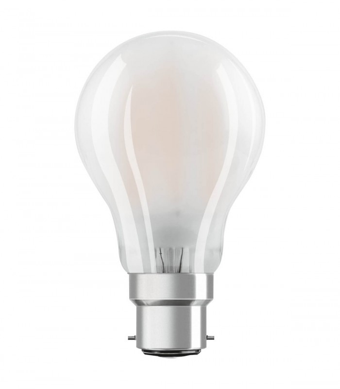 Osram 7W B22 LED Filament Classic A60 Frosted Warm White 806lm Bulb