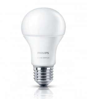 More about Philips 8W-5W-2W E27 LED Scene Switch A60 3in1 2700K/2500K/2200K 806lm Bulb