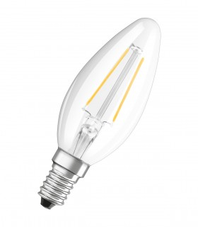 More about Osram 2.8W E14 LED Filament Classic B Candle Warm White 250lm Lamp