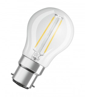 More about Osram 2.8W B22 LED Filament Classic P Fancy Round Warm White 250lm Lamp