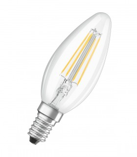 More about Osram 4W E14 LED Filament Classic B Candle Warm White 470lm Lamp