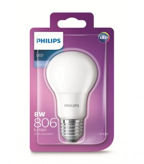 More about Philips 8W E27 LED Classic A60 Cool Daylight 806lm Bulb