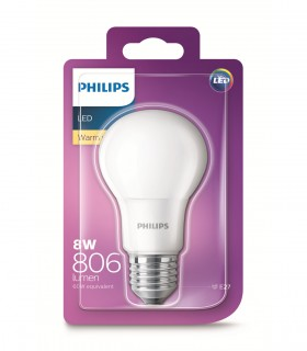 More about Philips 8W E27 LED Classic A60 Warm White 806lm Bulb