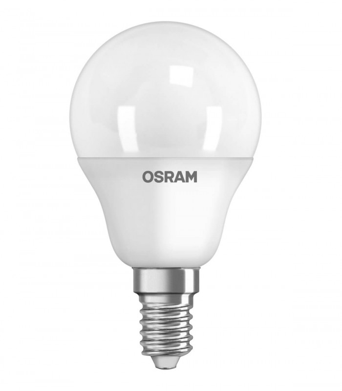 Osram 3.3W E14 LED Value Classic P Frosted Warm White 250lm Mini Globe