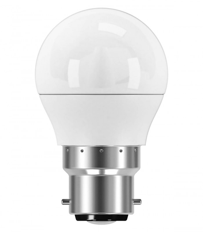 Osram 5.5W B22 LED Value Classic P Frosted Daylight 470lm Mini Globe