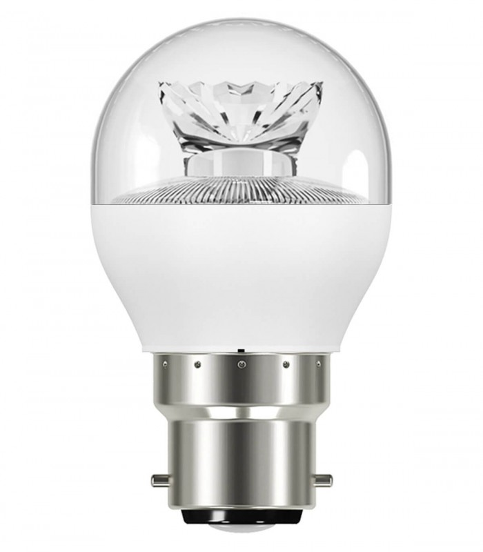 Osram 5W B22 LED Value Classic P Clear Warm White 470lm Mini Globe