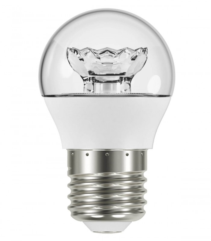 Osram 5.5W E27 LED Value Classic P Clear Warm White 470lm Mini Globe