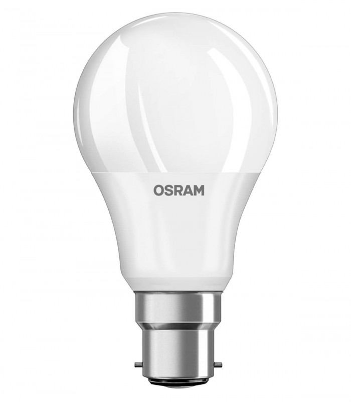 Osram 5.5W B22 LED Value Classic A Warm White 470lm Bulb