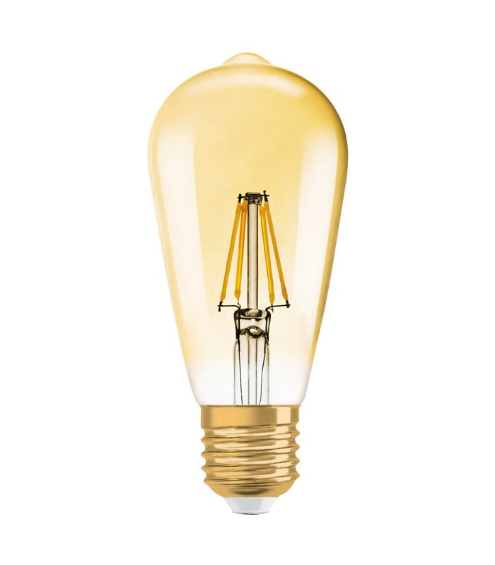 Osram 7.5W E27 Dimmable LED Filament Vintage 1906 ST64 Warm White 725lm Bulb
