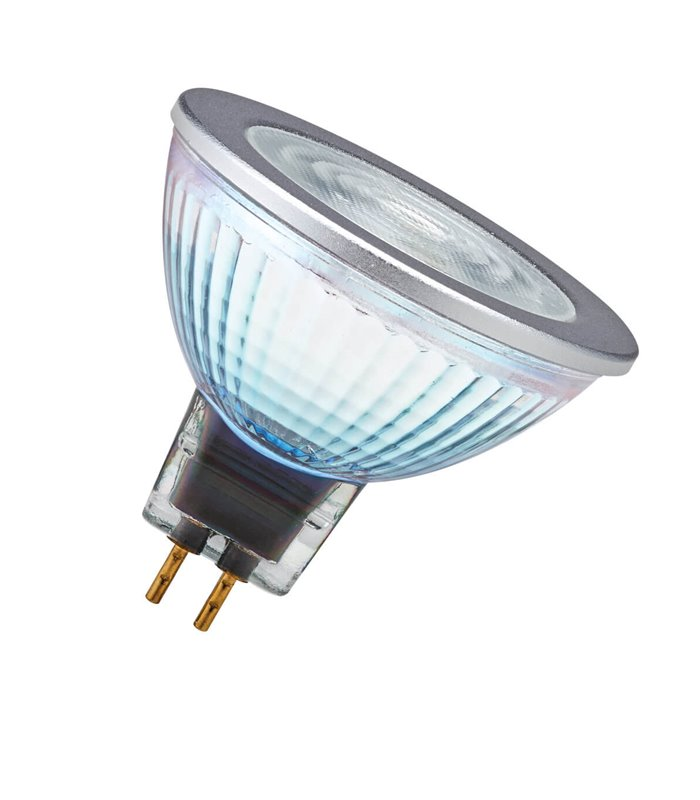 Osram 7W GU5.3 Dimmable LED Performance MR16 50 60° Warm White 630lm Lamp