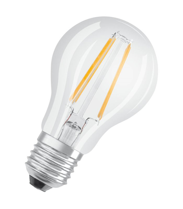 Osram 4W E27 LED Filament Classic A60 Cool White 470lm Bulb