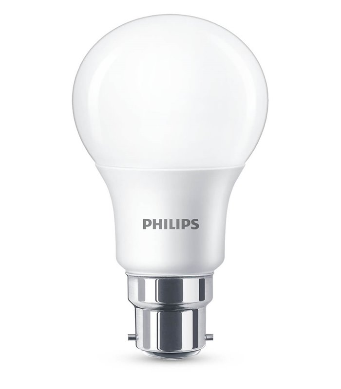 Philips 8.5W B22 Dimmable LED Classic A60 WarmGlow 806lm Bulb