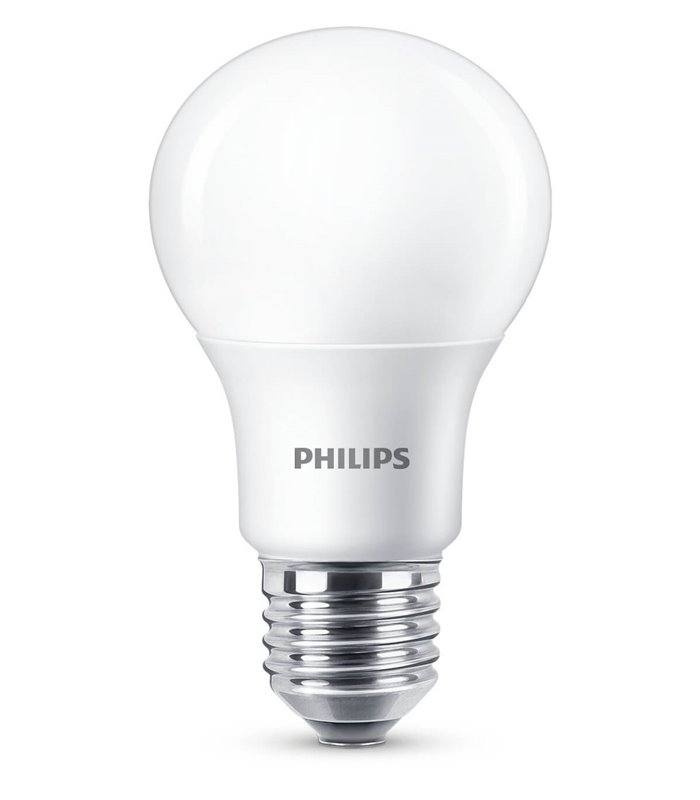 Philips 8.5W E27 Dimmable LED Classic A60 WarmGlow 806lm Bulb