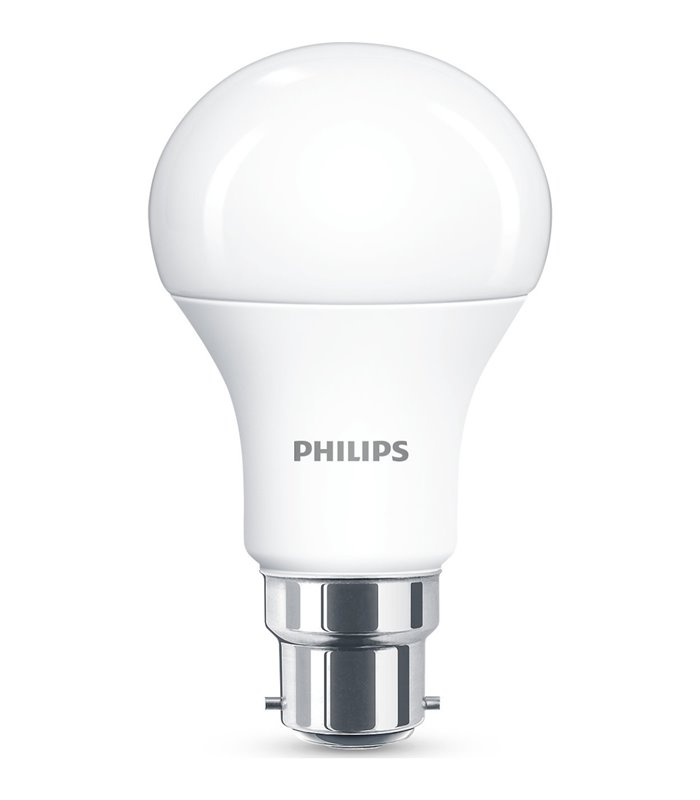 Philips 11W B22 Dimmable LED Classic A60 WarmGlow 1055lm Bulb