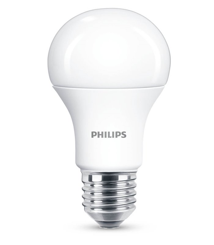 Philips 11W E27 Dimmable LED Classic A60 WarmGlow 1055lm Bulb